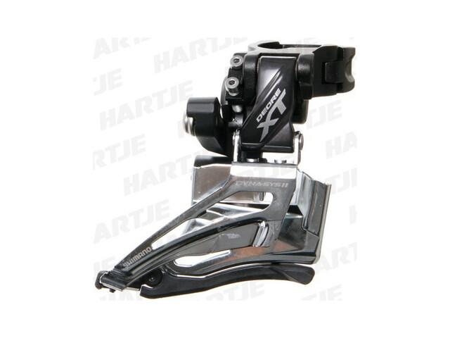 Shimano Deore XT FD-M8025 - Dérailleur avant - 2x11 collier Top Pull noir/argent